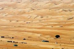 Village in the desert. Oman Stock Photo