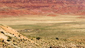 Village In The Desert Stock Image