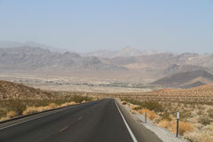USA, California/Shoshone: Village in a Desert  Royalty Free Stock Photo
