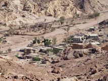 Village in desert3 Stock Image