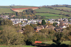 Village in Devon Royalty Free Stock Photo