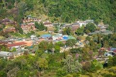 Village at Doi Ang Khang, Thailand Stock Image