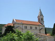 The village Dol in Croatia Stock Photography
