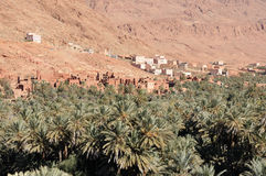 Village in Draa Valey, Morocco Royalty Free Stock Image