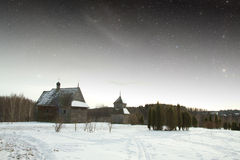 Village du 18ème siècle authentique Photographie stock libre de droits