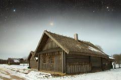 Village du 18ème siècle authentique en Russie Éléments de cette image Photographie stock
