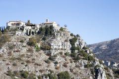 Village du 11ème siècle de Gourdon Photos stock