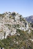 Village du 11ème siècle de Gourdon Images libres de droits