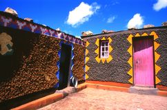 Village du sud de Sotho Photo stock