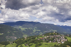 Village du Tyrol du sud Photo stock