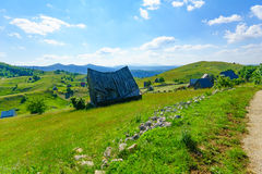 Village in durmitor Royalty Free Stock Photos