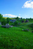Village in durmitor Royalty Free Stock Photography