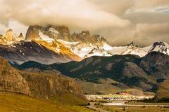 Village of El Chalten Royalty Free Stock Image