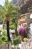 Village El Guro on La Gomera Royalty Free Stock Photo
