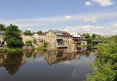 Village of elora Royalty Free Stock Photos