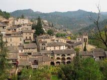 Village en Catalogne, Espagne Photo stock
