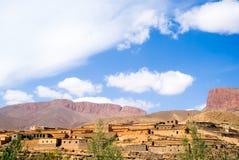 Village en gorge de dades Image libre de droits