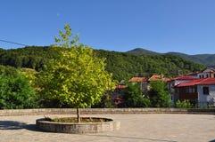 Village en Grèce, Milea Images stock