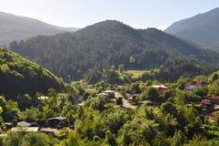 Village en Grèce, Milea Photo libre de droits