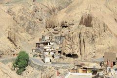Village en lune Land-1 Photo libre de droits