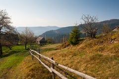 Village en montagnes Photo libre de droits