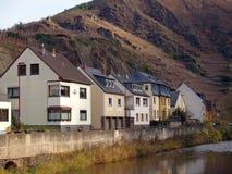 Village en montagnes de l'Allemagne Image libre de droits