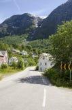 Village en Norvège-Europe Photo libre de droits