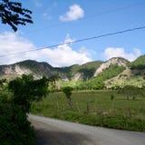 Village en République Dominicaine  Photo stock