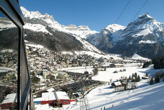 The village of Engelberg Royalty Free Stock Photography