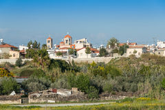Village of Erimi, southern Cyprus Royalty Free Stock Images