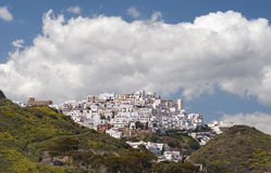 Village Espagne de Mojacar Image libre de droits