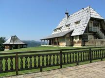 Village ethnique de touristes Images stock