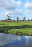 The village - an ethnographic museum in Holland Stock Image