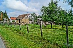 Village européen Baraji Photo libre de droits