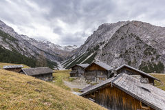Village in the European Alps Stock Photography