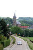 The village Eys in  of the province of Limburg in the Netherlands Royalty Free Stock Photography