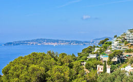 Village of Eze on French Riviera Stock Image