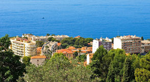 Village of Eze on French Riviera royalty free stock image