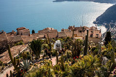 The village of Eze in Provence, French Stock Photo