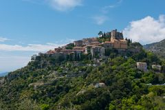 The Village of Eze Royalty Free Stock Photo
