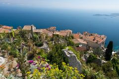 The Village of Eze Stock Images