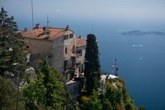 The Village of Eze Stock Image