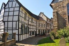 Village of fachwerkhäuser in germany Stock Photos