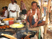 Village fair. In West Bengal, India Royalty Free Stock Images