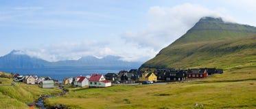 Village in Faroe Islands Stock Photos