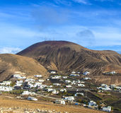 Village of Femes in Lanzarote Stock Images