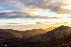 Village of Femes in Lanzarote Stock Photography