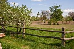 Village fence Stock Image