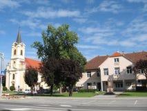 Village Feričanci Stock Photography