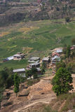 Village and fields near Kathmandu Royalty Free Stock Photos